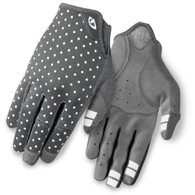 Giro LA DND Gloves Dame dark shadow/white dots